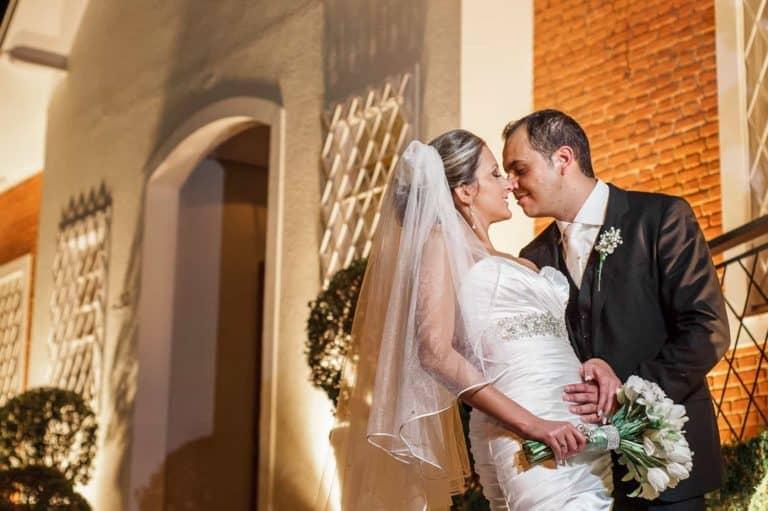 Foto linda casamento Espaço Figueiras