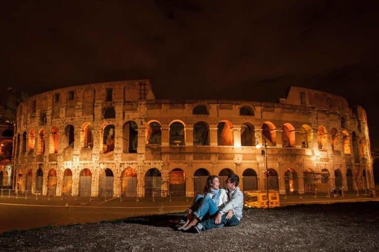 Ensaio Pré Casamento em Roma Coliseu