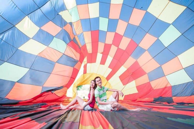 Fotos Pré Casamento balão